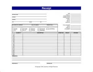Budget Car Rental Forms Of Payment Doc 434690 Printable Sales Receipts 6 Free Sales