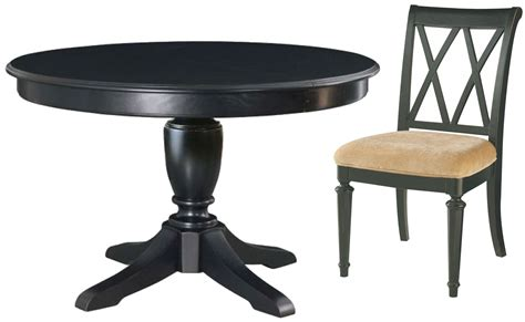 Camden Dining Table Camden Black Extendable Dining Table From American Drew 919 704r Coleman Furniture