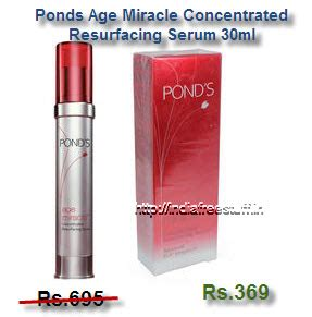Ponds Age Miracle Serum Review ponds age miracle concentrated resurfacing serum 30ml rs