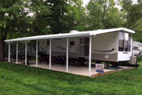 Silver Top Awnings by Diy Rv Slide Out Cover Do It Your Self
