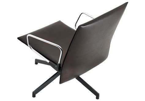 low chaise lounge pilot chair low with armrests knoll milia shop