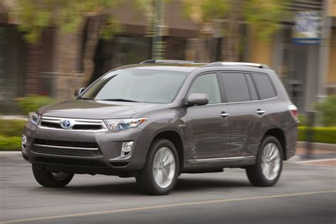 Toyota Highland In 2013 Toyota Highlander Hybrid Review Cargurus