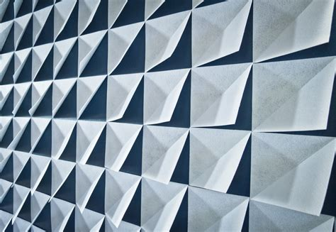 geometric pattern wall panel 3d felt geometric wall panel feature come with folded