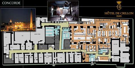 Hotel Room Floor Plan crillon renovation cuisine paris