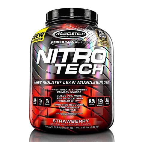 proteinas nitro tech muscletech nitrotech performance 3 97lb bodybuilding india