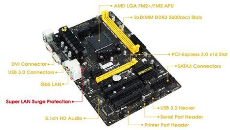 Mainboard Biostar Ta70u3 Lsp biostar announced ta70u3 lsp fm2 a70m motherboard eteknix