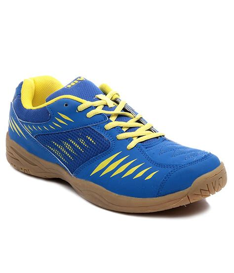 nivia sport shoes nivia supercourt badminton shoe blue price in india buy