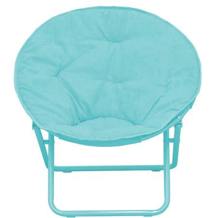 american kids solid faux fur saucer chair multiple colors
