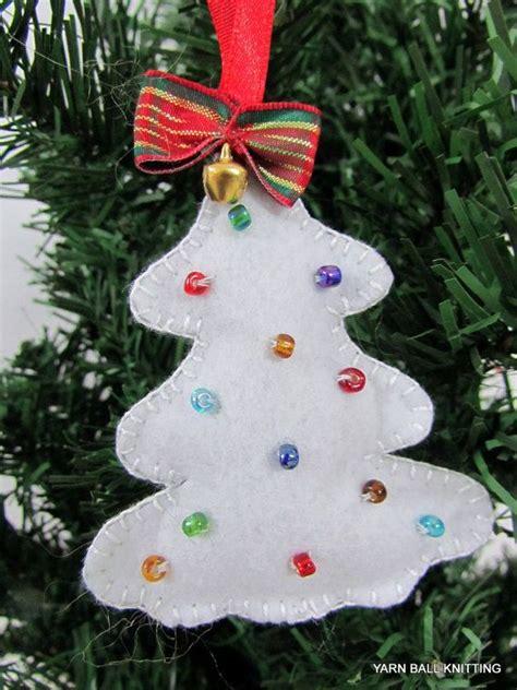 felt christmas ornaments handmade  myrastyle  etsy