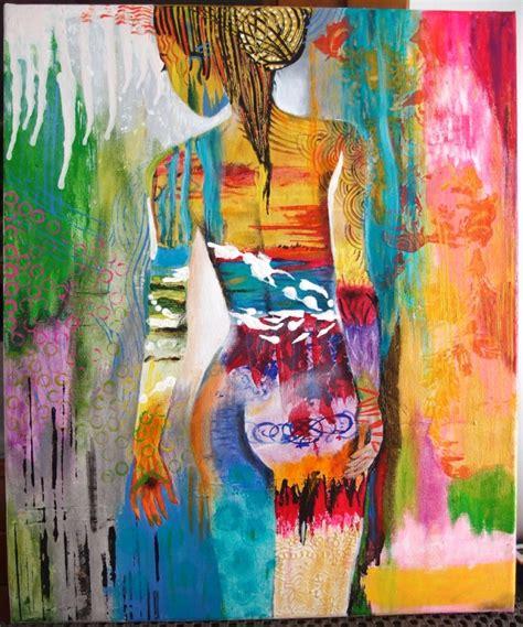 Tableau Peinture A L Huile Contemporain Colori En Ligne L