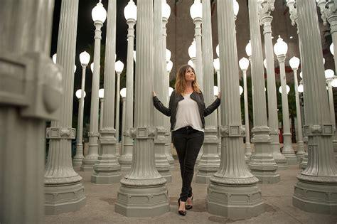 la museum of art lights california iconic l posts photos couple photos at los