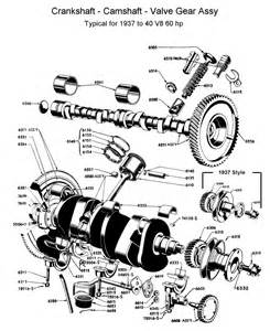 flathead parts drawings engines