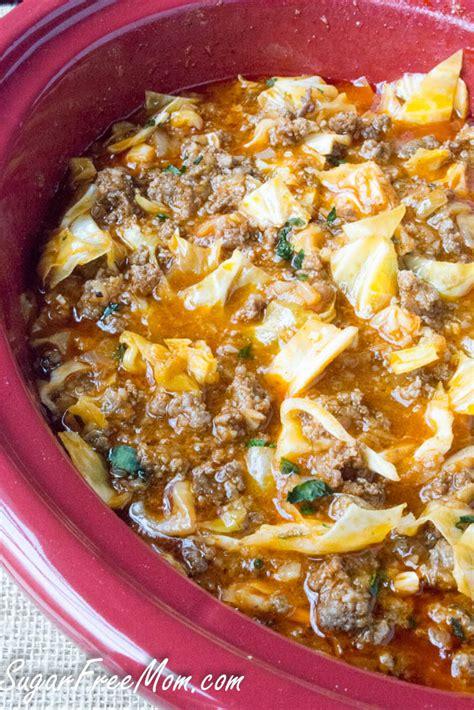 Crock Pot Cabbage Detox Soup by Crock Pot Low Carb Un Stuffed Cabbage Roll Soup