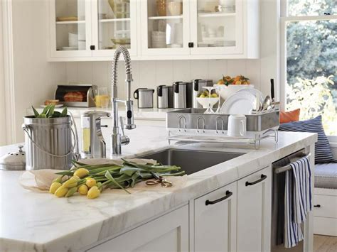 White Countertop Kitchen white quartz countertop with waterfall new granite marble