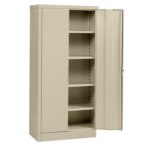 Armoire With Shelves by Realspace 72 Steel Storage Cabinet With 4 Adjustable