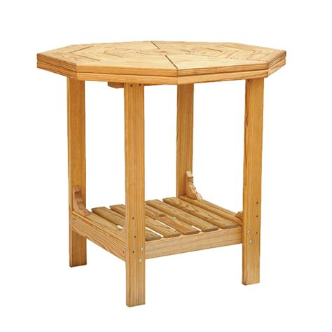 Octagon Patio Table Cooper S Collection Outdoor Wood Octagon Patio Table