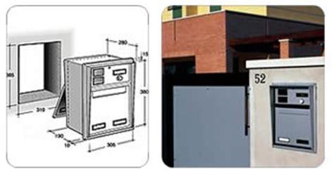 cassetta della posta da incasso ferramentaonline shop cassetta posta alluminio con
