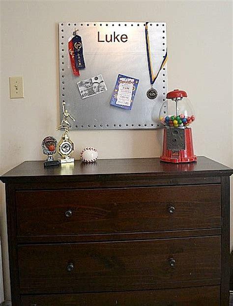 Make A Diy Magnet Board Magnetic Board For Room