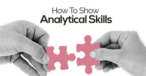 Analytical Abilities How To Show Analytical Skills In Cover Letter Cv
