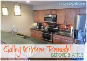 How To Replace Kitchen Sink Faucet galley kitchen remodel before amp after pictures future