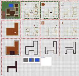 minecraft floorplans 2 npc village forge by falcon01 on