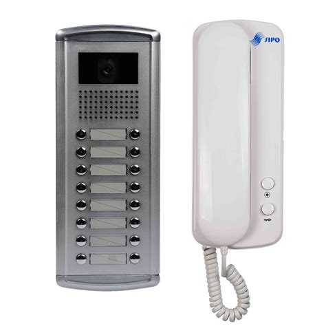 china audio door phone for 16 apartments china audio