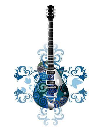 guitar pattern drawing guitar design drawing www pixshark com images