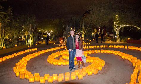 luminarias desert botanical garden las noches de las luminarias desert botanical garden