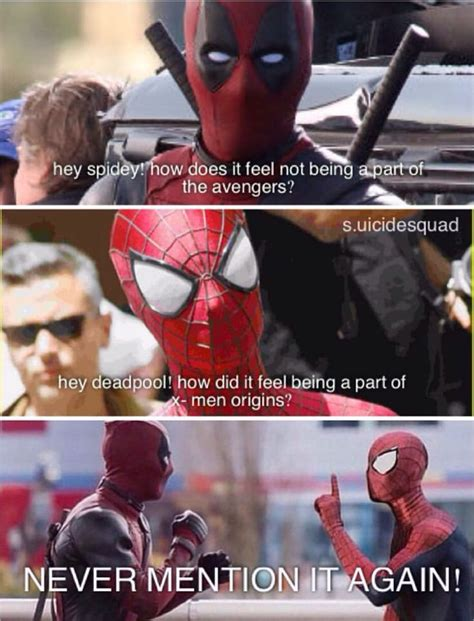 Best 25 Spider Meme Ideas - best 25 deadpool and spiderman ideas on pinterest