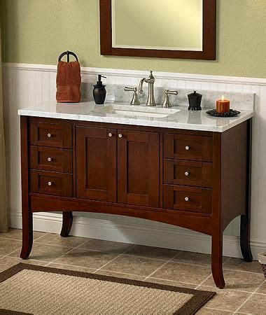 shaker style bath vanity for the home