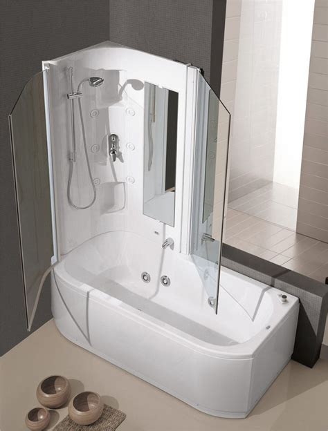 vasca idromassaggio con doccia vasca con doccia idromassaggio