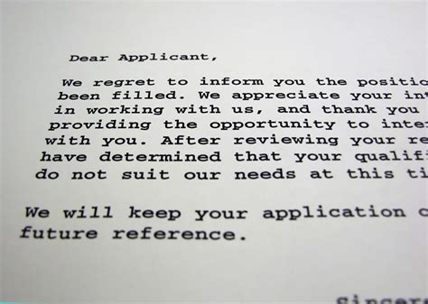 Rejection Letter When You Don T Get The How To Not Get Rejected From Hr When Applying For In Switzerland Jordico