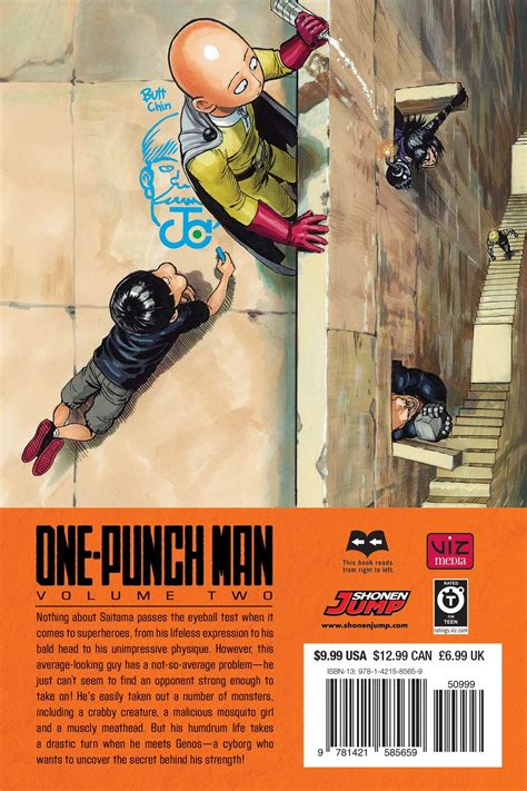 punch vol 1 books one punch vol 2 book by one yusuke murata