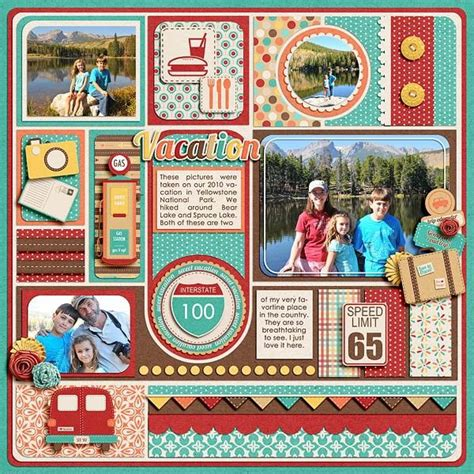 scrapbook layout travel scrapbook layout travel love the look of this for