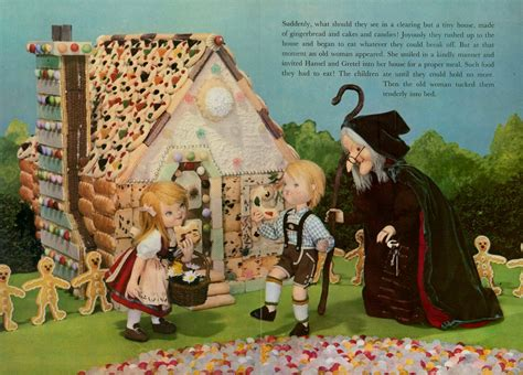 hansel and gretel picture book hansel and gretel living story book 1967 pg 4 a living