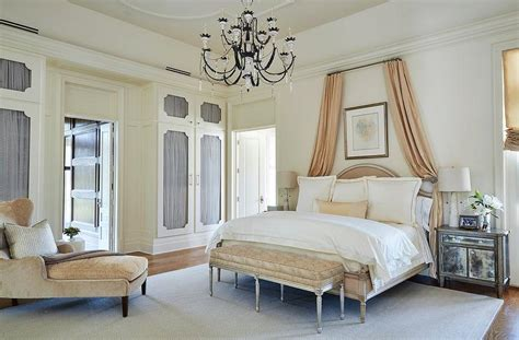 white and peach bedroom gray and orange bedroom transitional bedroom domino magazine