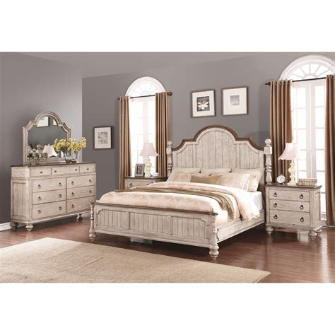 Wynwood King Bedroom Set by Flexsteel Wynwood Collection Plymouth King Bedroom