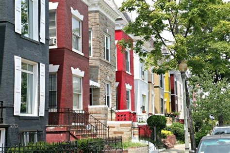 row houses for sale in dc dc rowhouses washington dc real estate atached homes