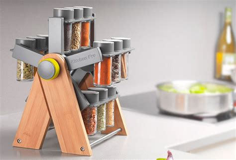 Ferris Wheel Spice Rack convenient ferris spice container by kitchen pro digsdigs