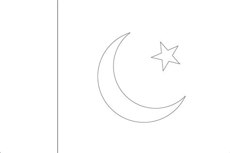 Pakistan Flag Coloring Page World Flags Coloring Sheets 6 by Pakistan Flag Coloring Page