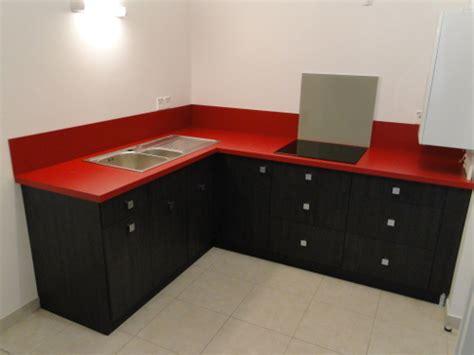 cuisine rouge et noir ikea
