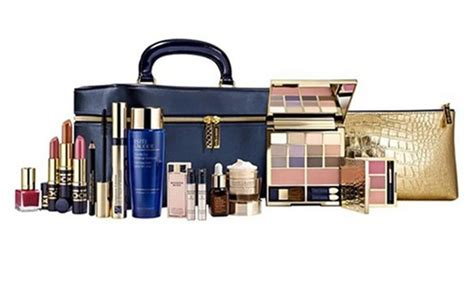 Limited Edition Tas Kosmetik Beutycase Tas Make Up Pink Laris estee lauder make up gift sets groupon
