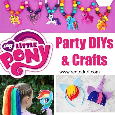 my pony crafts for my pony crafts ted s