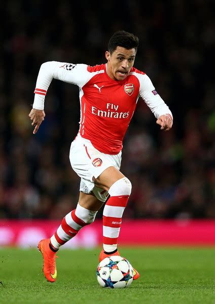 alexis sanchez review arsenal v as monaco fc pictures zimbio