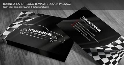 Business Cards Need For Your Automobile Business Today Mondeo Riders Auto Repair Business Cards Templates