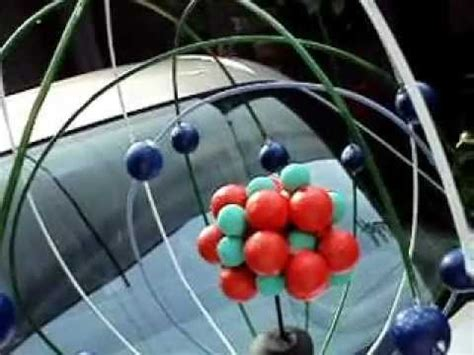 como construir una maqueta de un atomo de aluminio maqueta del atomo de silicio youtube