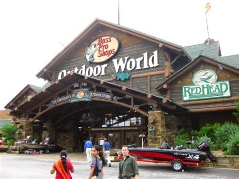 the backyard store the largest outdoor store in the world bass pro and