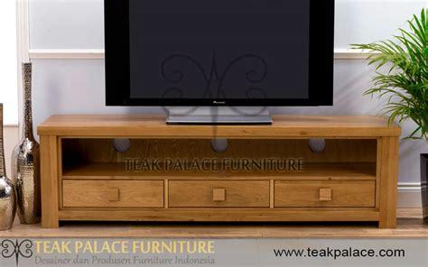 Meja Tv Terbaru meja tv minimalis kayu jati seri medan harga murah mebel