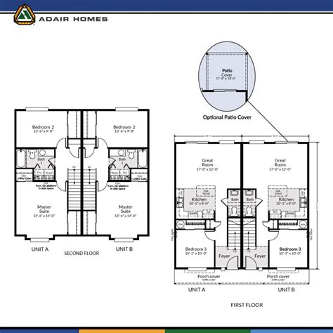 adair floor plans adair homes the pines 2424 home plan