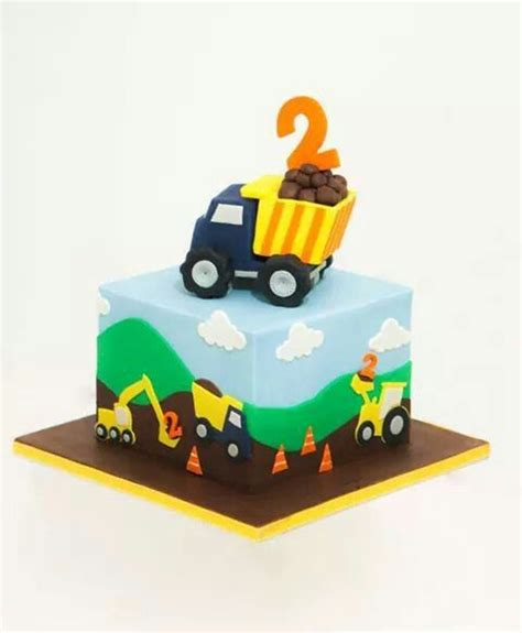 Digger Cake Template by Cars Digger Cake Cakes For Boys Cake